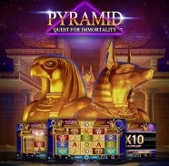 Nowy slot pyramid quest for immortiality od netent